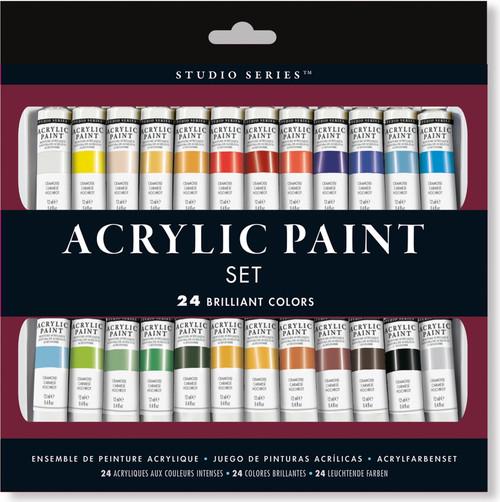 Studio Series Acrylic Paint Set of 24