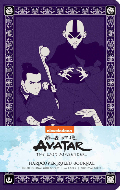 Avatar: The Last Airbender Hardcover Ruled Journal