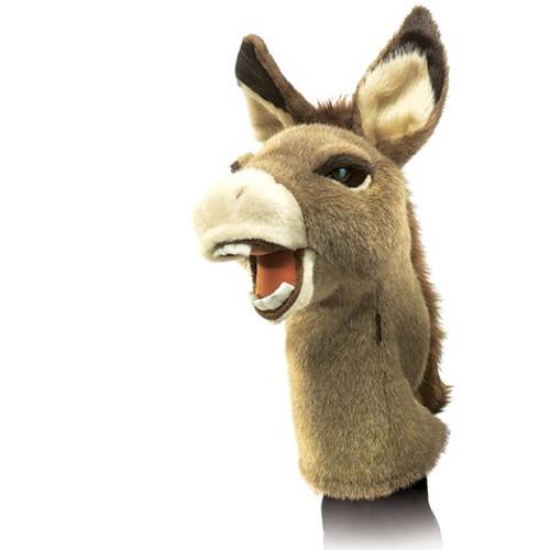 Folkmanis Puppet: Stage Puppet: Donkey