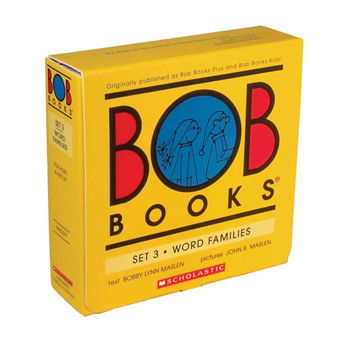 Bob Books: Set 3 - Word Families