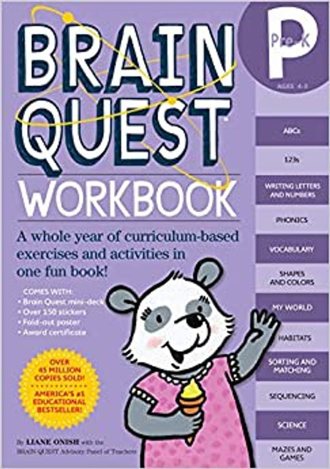 Brain Quest: Pre-K Workbook