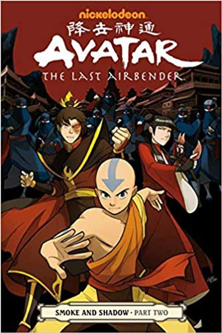 Avatar the Last Airbender:  Smoke and Shadow Part 2