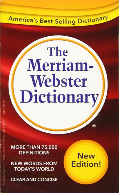 Merriam-Webster Dictionary - Mass Market Paperback
