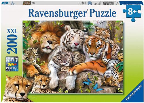 Big Cat Nap 200 pc. Puzzle