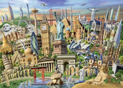 World Landmarks 1000 pc. Puzzle