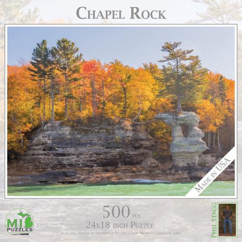 Chapel Rock 500 pc Puzzle