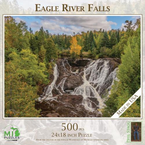 Eagle River Falls 500 pc Puzzle