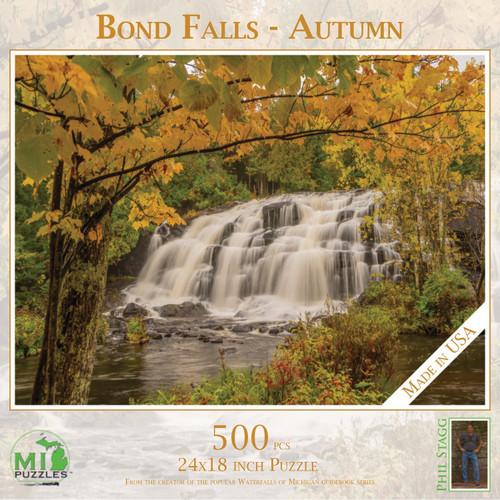 Bond Falls - Autumn 500 pc Puzzle