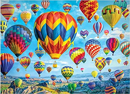 Balloons in Flight 1000 pc Puzzle