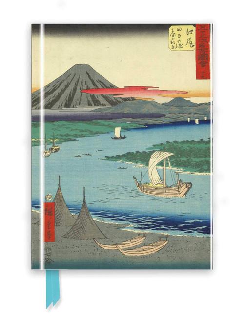 Hiroshige: Mount Fuji Foiled Journal