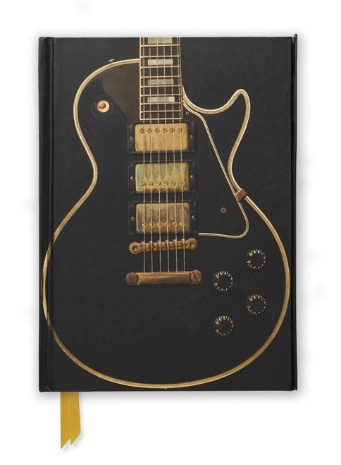 Gibson Les Paul Black Guitar Foiled Journal