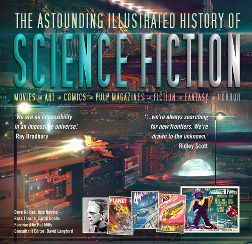 Astounding Illustrated History of Science Fiction (Inspirations & Techniques)