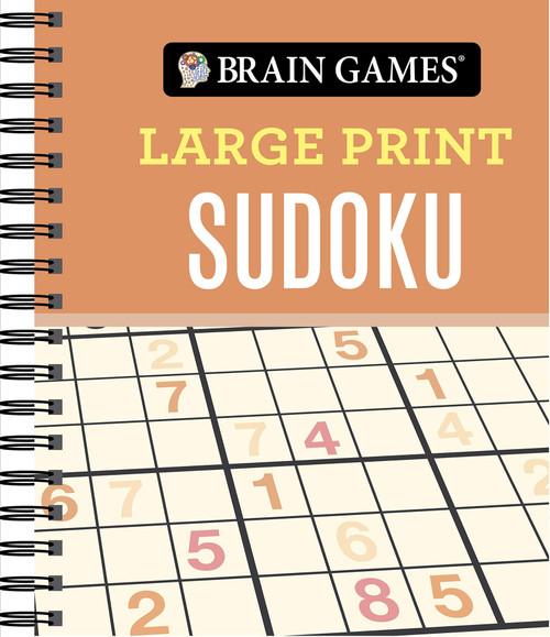 Brain Games - Large Print Sudoku