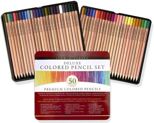 Studio Series Deluxe Colored Pencil Set of 50