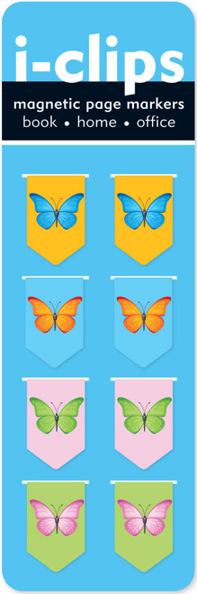 i-clips Butterflies Magnetic Bookmarks