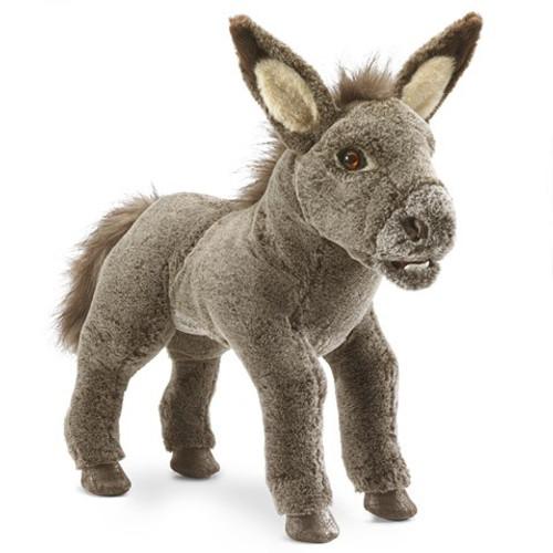 Folkmanis Puppet: Baby Donkey