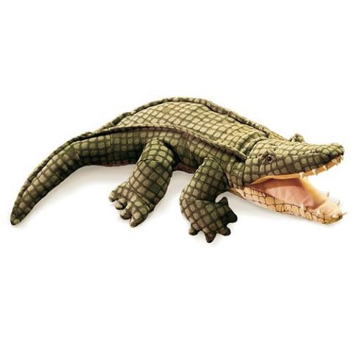 Folkmanis Puppet: Alligator