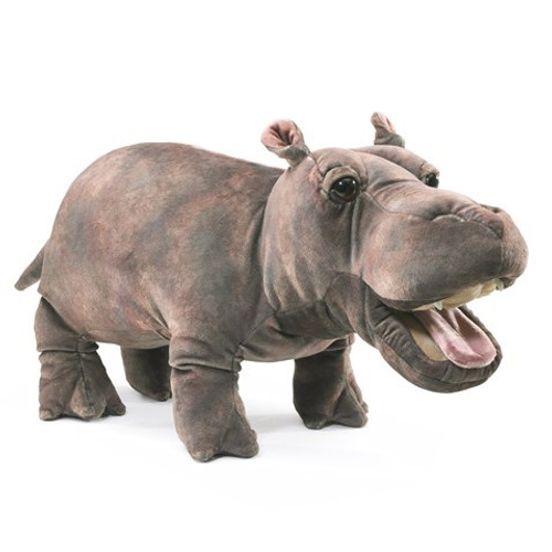 Folkmanis Puppet: Baby Hippo