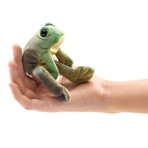 Folkmanis Puppet: Mini Sitting Frog