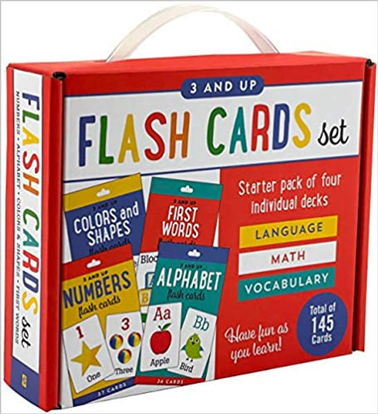 Flash Cards Set: 3 and Up