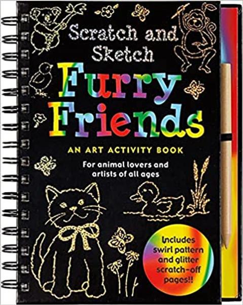 Scratch and Sketch: Furry Friends