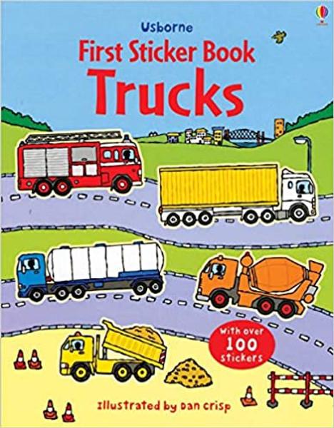 First Sticker Book 2: Trucks