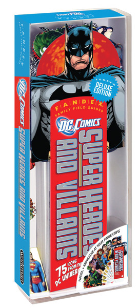 Fandex Deluxe Edition: DC Comics Super Heroes and Villains: 75 Icons from the DC Universe!,