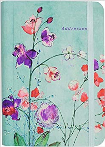 Fuschia Blooms Address Book
