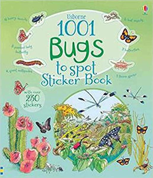 1001 Bugs to Spot Sticker Book