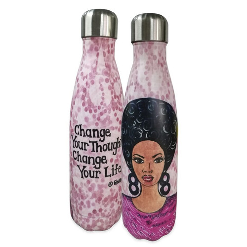 NEW Change Your Thoughts, Change Your Life Stainless Steel Bottle