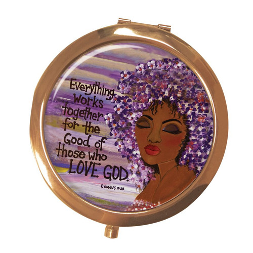 Everything Works Together Compact Mirror