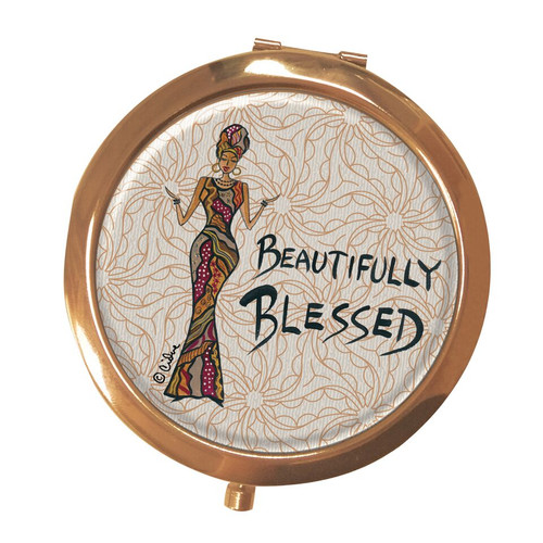 Beautifully Blessed Compact Mirror