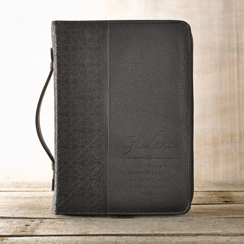 Guidance in Black Proverbs 3:6 Bible Cover