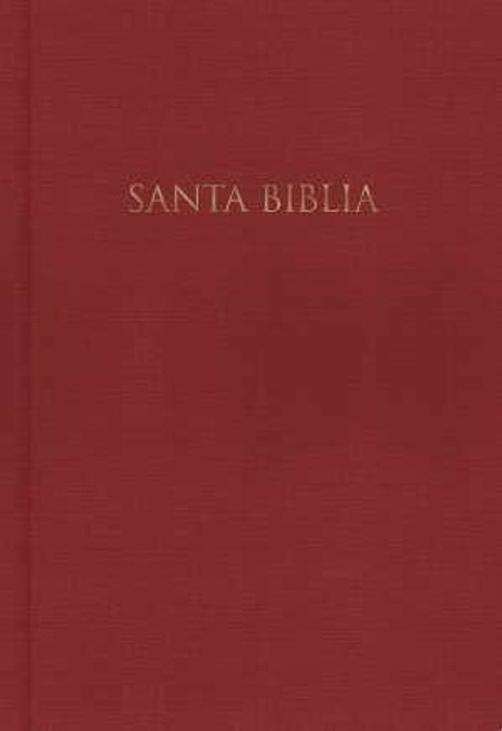 Span-RVR 1960 Gift And Award Bible-Red Hardcover (Biblia Para Regalos Y Premios)