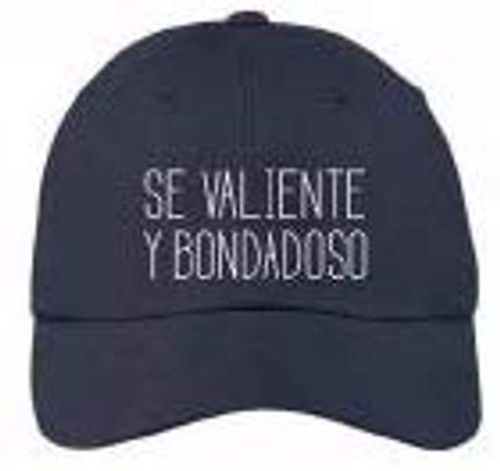 Spanish-Cap-Have Courage and Be Kind-Navy