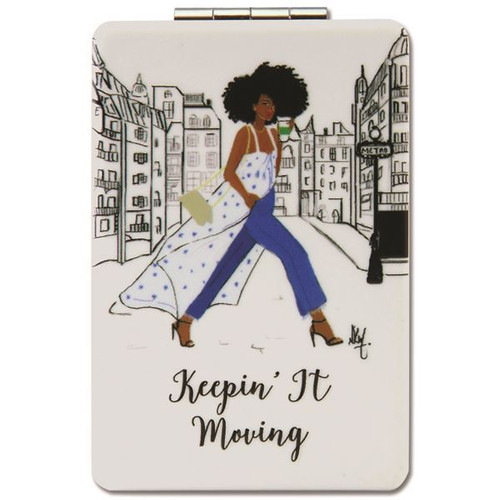 Keepin' It Moving Compact Mirror