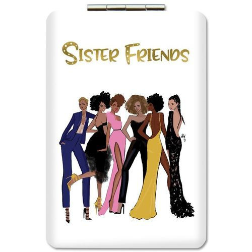 Sister Friends 2.0 Compact Mirror