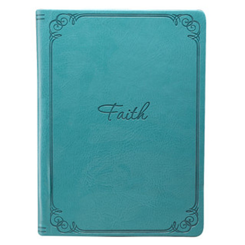 "TURQUOISE ""FAITH"" INSPIRATIONAL COVER FOR KINDLE FIRE"