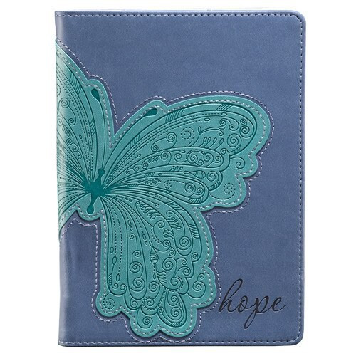 "BUTTERFLY APPLIQUE ""HOPE"" INSPIRATIONAL COVER FOR KINDLE FIRE (DOES NOT FIT KINDLE FIRE HD) KFR002"