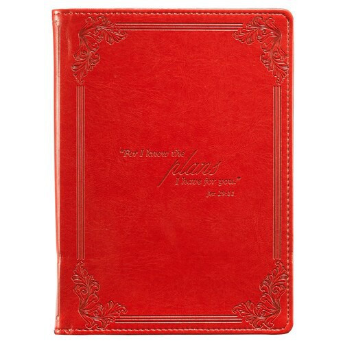 "RED ""I KNOW THE PLANS"" INSPIRATIONAL COVER FOR KINDLE FIRE (DOES NOT FIT KINDLE FIRE HD KFR006"