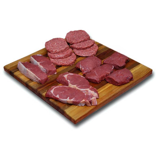 Bison Combo Pack-Bison Ribeye, Bison NY Strip, Bison Sirloin, Bison Burgers - Free Shipping