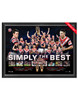 Sydney Roosters 2019 Premiers Framed Sportsprint