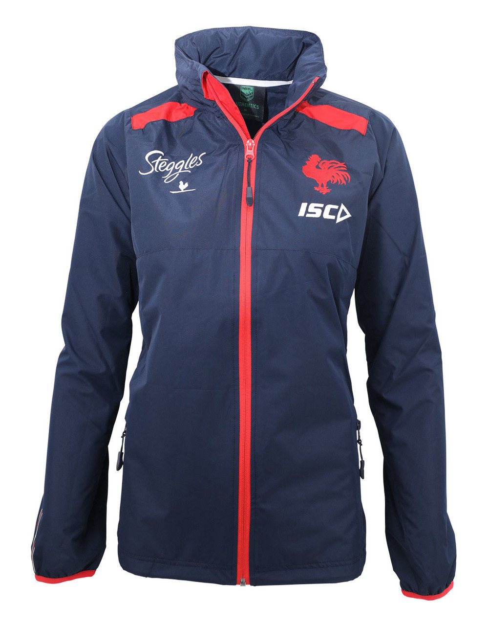 7b60db1b8 Sydney Roosters 2019 ISC Womens Wet Weather Jacket - Roosters Shop