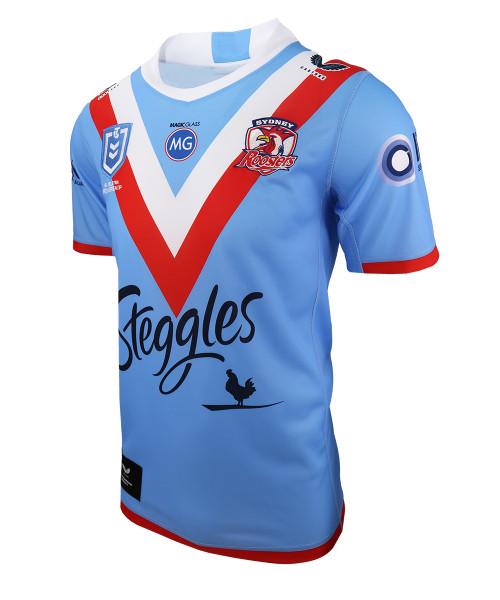 Sydney Roosters 2021 Castore Kids 'Wartime' ANZAC Jersey