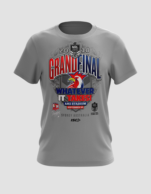 Sydney Roosters 2018 Kids ISC Grand Final Tee