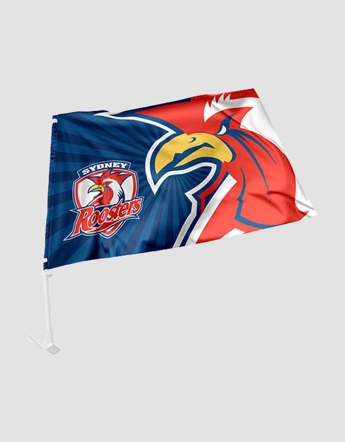 Sydney Roosters Car Flag