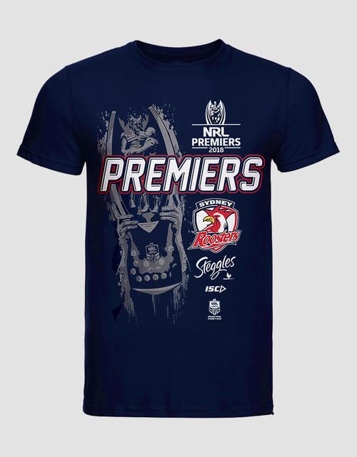 Sydney Roosters 2018 Mens ISC Premiers Tee
