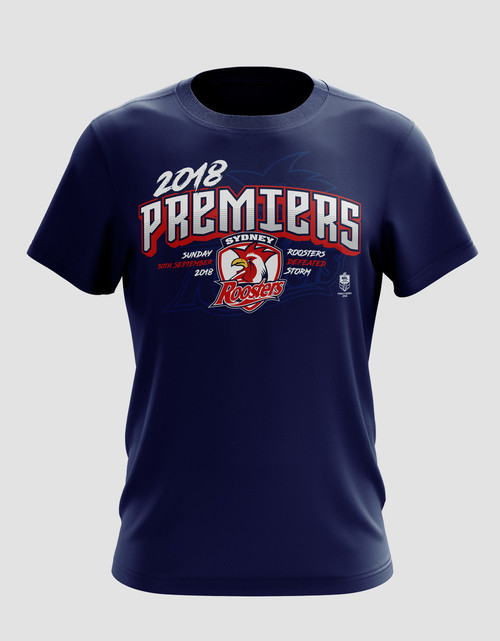 15d7f295e02 Sydney Roosters 2018 Kids Classic Premiers Tee