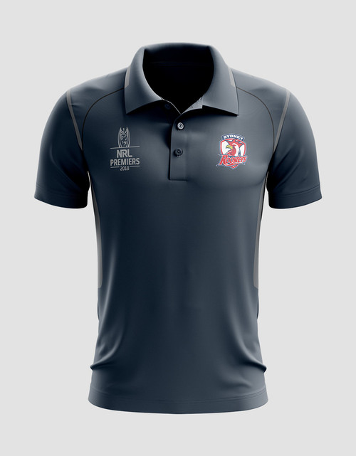 Sydney Roosters 2018 Mens Classic Premiers Polo