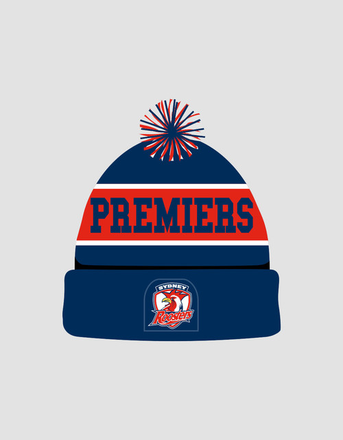 Sydney Roosters 2018 Premiers Beanie